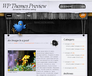 TreeHouse wordpress theme 20 thèmes Wordpress gratuits