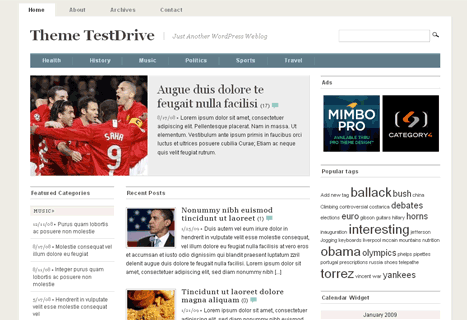 mimbo wordpress theme 20 thèmes Wordpress gratuits