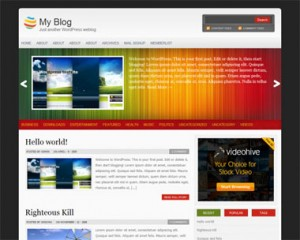 multichrome wordpress theme 300x240 20 thèmes Wordpress gratuits