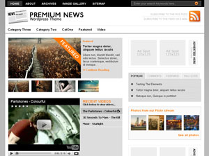 premiumnews wordpress theme 20 thèmes Wordpress gratuits