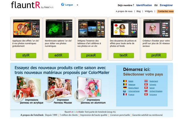 flauntr 7 sites pour faire de la retouche de photo en ligne