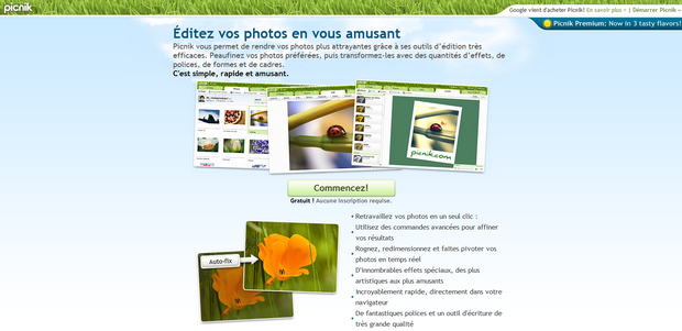 picnik 7 sites pour faire de la retouche de photo en ligne