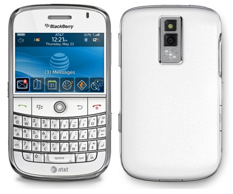 blackberry white 2 Blackberry Bold 9700 en vidéo