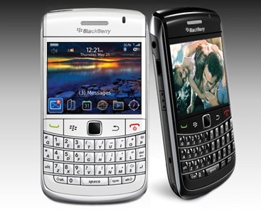 blackberry white 3 Blackberry Bold 9700 en vidéo