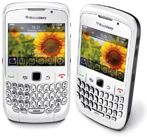 blackberry white 4 Blackberry Bold 9700 en vidéo