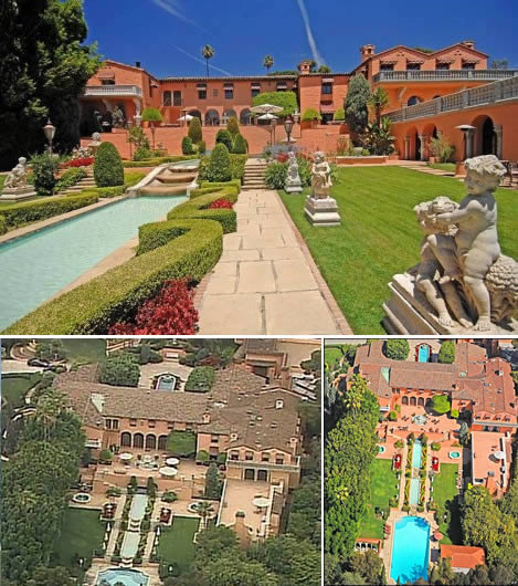 maison luxueuse hearst mansion beverly hills 10 des plus luxueuses maisons ou villas au Monde