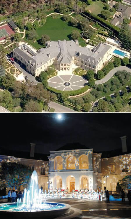 maison luxueuse the manor los angeles 10 des plus luxueuses maisons ou villas au Monde