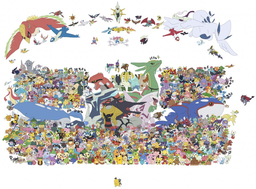 La grande photo de famille des Pokémon - Cheese !