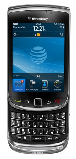 blackberry torch Le nouveau Blackberry Torch ou 9800 de chez RIM
