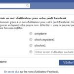 Comment changer le lien url de votre profil Facebook