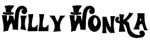 willy wonka police ecriture film font movie Des polices décritures originales : Cinéma, Films, Dessins animés, Séries,...