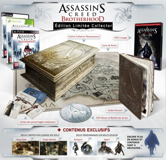 Assassin's Creed Brotherhood Codex edition, le jeu à acheter !