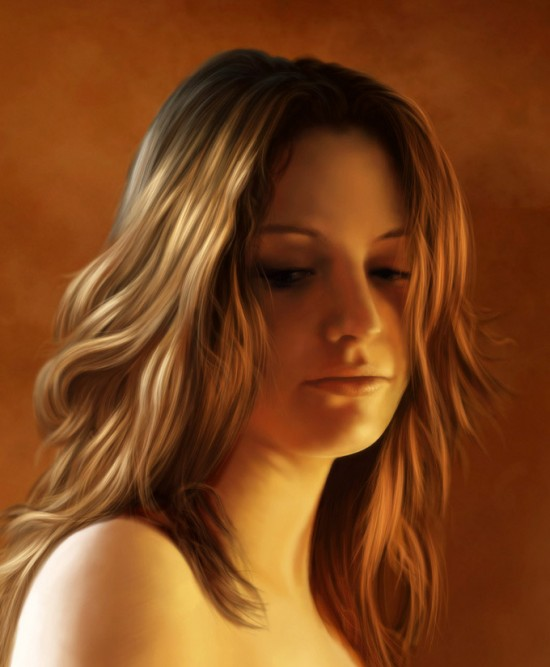 11 Portraits incroyables de Femmes en Digital Painting