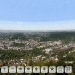 La ville universitaire de Marburg dans une photo de 47 Gigapixels