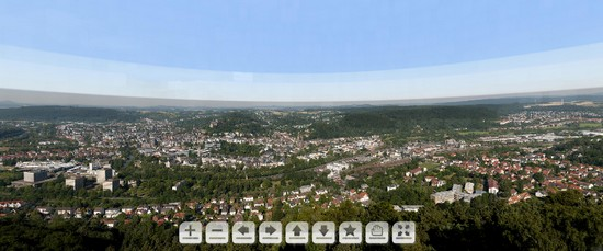 plus grande photo du monde marburg La ville universitaire de Marburg dans une photo de 47 Gigapixels
