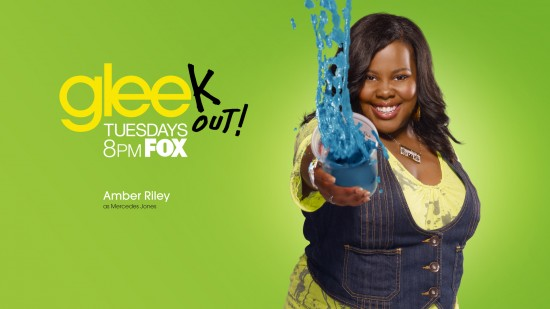 wallpaper glee amber riley mercedes jones 550x309 15 nouveaux Wallpaper pour la série Glee [HD]