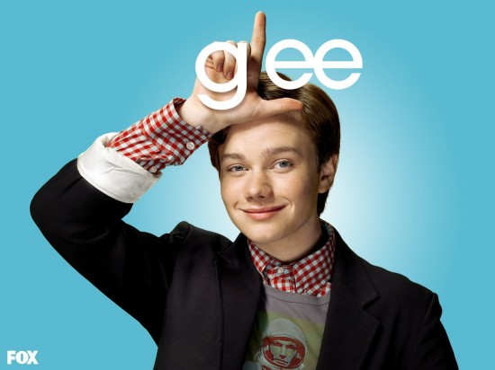 wallpaper glee chris colfer kurt hummel1 550x412 16 superbes Wallpaper des acteurs de la série Glee [HD]