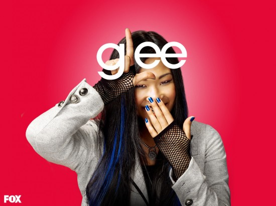 wallpaper glee jenna ushkowitz tina cohen chang1 550x412 16 superbes Wallpaper des acteurs de la série Glee [HD]