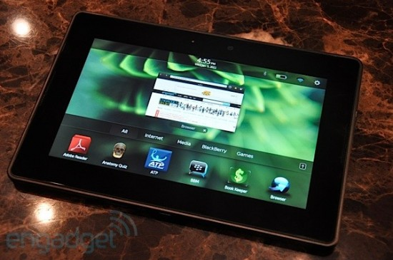 Blackberry Playbook : photos et vidéo