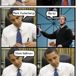 Obama rencontre Steve Jobs et Mark Zuckerberg… et Microsoft alors ?