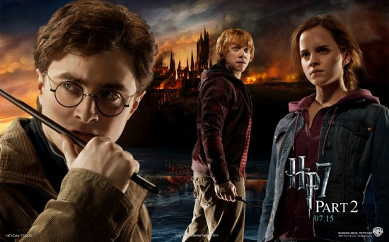 wallpaper harry potter relique de la mort partie 2 4 550x343 15 Wallpaper Harry Potter et les Reliques de la Morts : partie 1 et 2