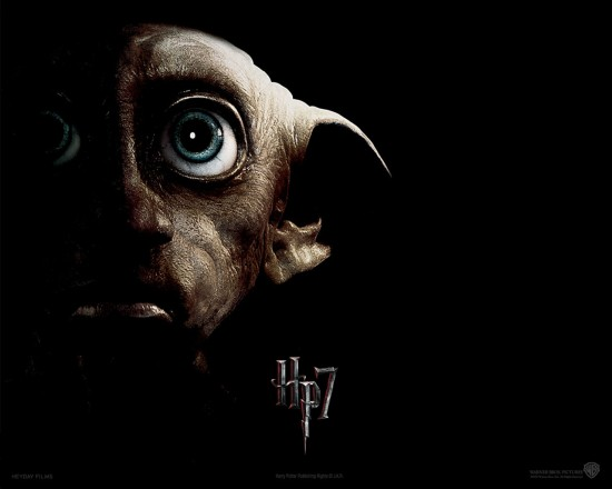 wallpaper harry potter relique de la mort partie 2 dobby 550x440 15 Wallpaper Harry Potter et les Reliques de la Morts : partie 1 et 2