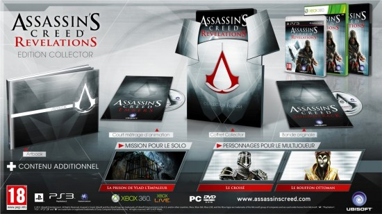 assassins creed revelations collector 550x309 4 éditions pour Assassins Creed Revelations : collector, animus, ... !