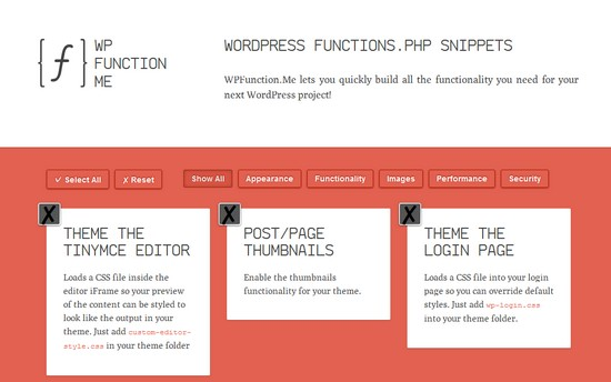 wp function me Créer le fichier functions.php de Wordpress en quelques clics