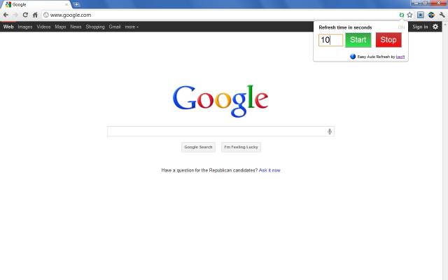 Rafraîchir automatiquement une page dans un navigateur