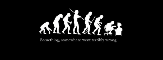 evolution couverture facebook cover 550x203 Couverture Facebook : Humour, images amusantes