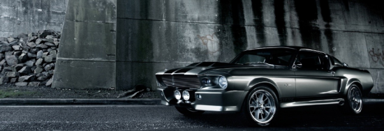 ford mustang voiture couverture facebook cover 550x188 Couvertures Facebook automobile : voiture et moto