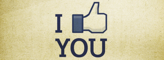 i like you couverture facebook cover 550x203 Couvertures pour Facebook   Cover du Profile