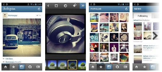 android application instagram Android : Instagram est désormais disponible