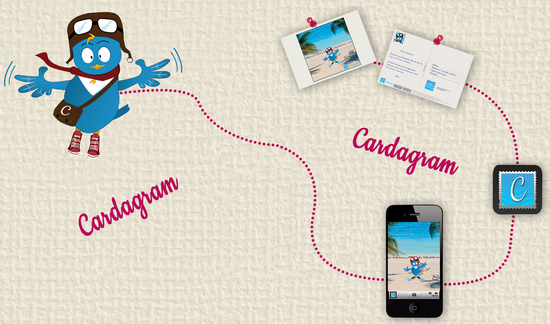cardagram iphone android Envoyer des photos en carte postale depuis un Iphone