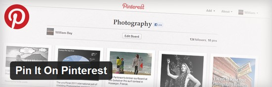 pin it on pinterest 4 Plugins Wordpress pour Pinterest
