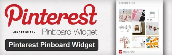pinterest pinboard widget 4 Plugins Wordpress pour Pinterest
