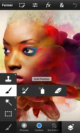 Faire de la retouche photo sur Android et Iphone avec Photoshop