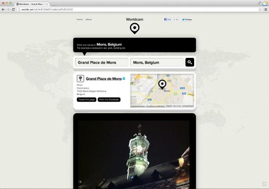 Une carte pour localiser les utilisateurs et photos Instagram à coté de moi