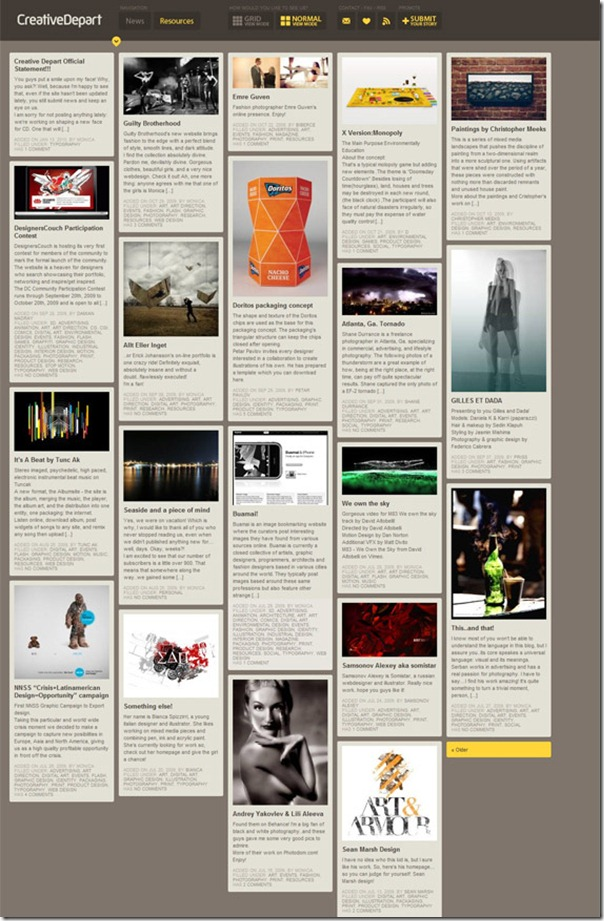 creativedepartblogdesigns thumb 8 designs de thèmes WordPress pour l'inspiration