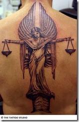 Les plus beaux tatouages pour le signe Balance (tattoo zodiac)