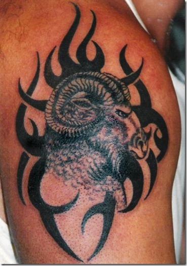 Les Plus Beaux Tatouages Pour Le Signe Bélier Tattoo Zodiac