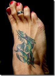 poisson2 thumb Les plus beaux tatouages pour le signe Poisson (tattoo zodiac)