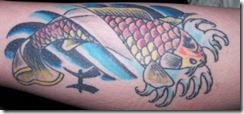 poisson9 thumb Les plus beaux tatouages pour le signe Poisson (tattoo zodiac)