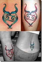 Les plus beaux tatouages pour le signe Taureau (tattoo zodiac)